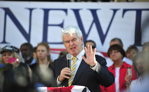 The Gop Three-Way Contest — With Newt Gingrich First Among (Almost) Equals