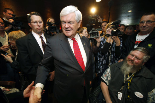 Newt Gingrich Remains At Top Of Gop Presidential Field, But Gop Voters Not Satisfied