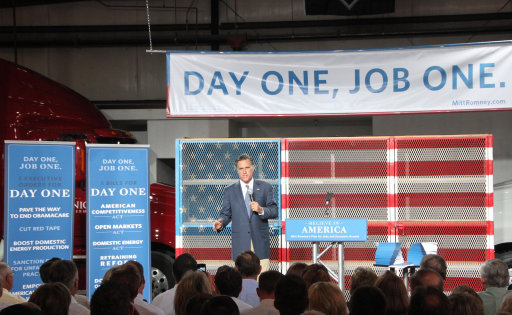 The Bain Era: By 54%-14%, Gop Voters See Romney As A Jobs Creator