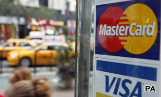 Mastercard and Visa take Buzz fall after security breach