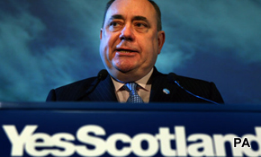 Independence: Salmond's mountain