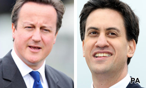 Up to the job? Cameron v Miliband