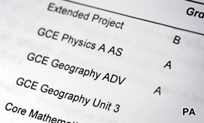 A-levels: AAB restrictions?