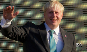 Boris's gold medal bounce