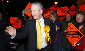 Lib Dems win in Eastleigh
