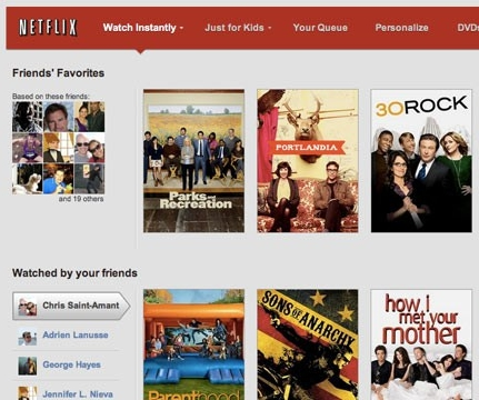 Netflix announces increased Facebook integration