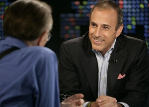 "Matt Lauer to host ""Jeopardy!""?"