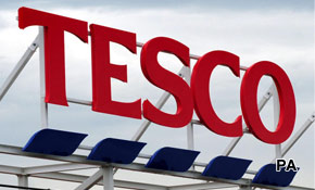 Tesco profits fall has big impact on social media