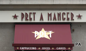 Pret A Manger set to create 1000 new jobs