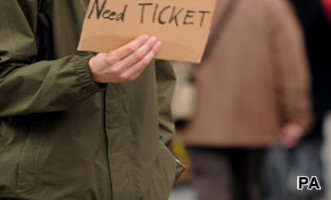 Ticket scalping: Men and high earners more likely to buy from barkers