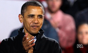 Obama on course for narrow victory