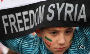 Syria: Cameron, Hollande at odds with voters