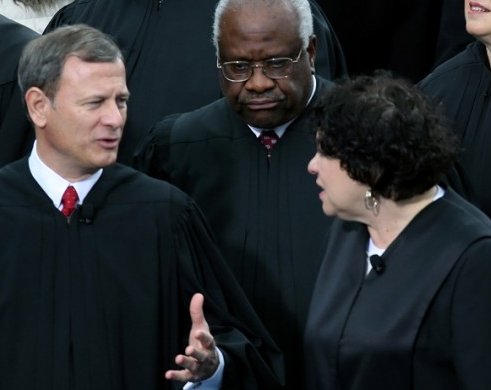 Justices debate Gay Marriage