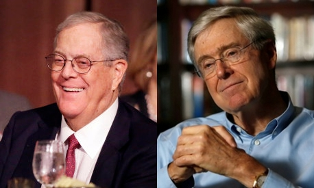 Koch Brothers better known than George Soros