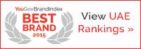 View the UAE BestBrand Rankings for 2015