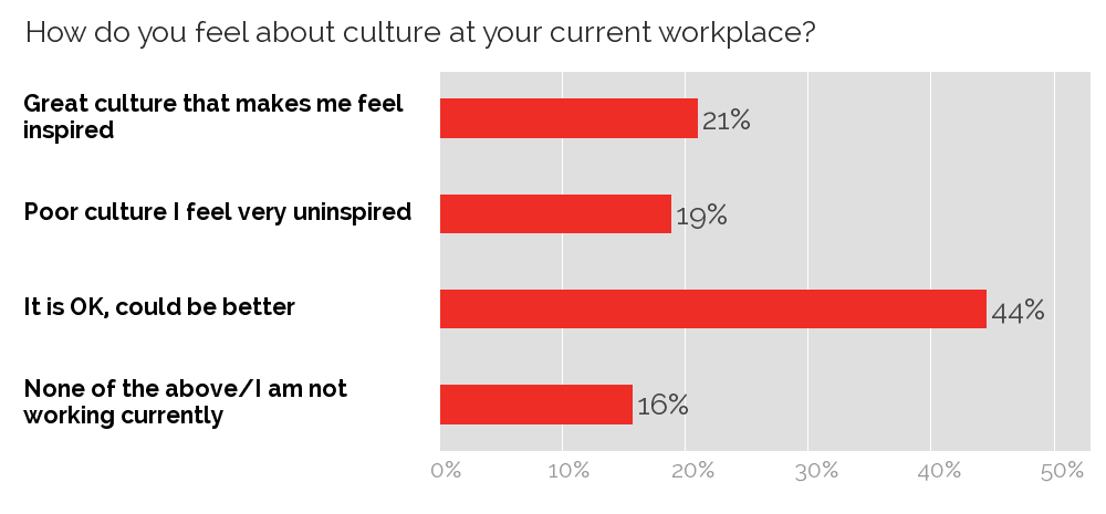 Culture at current workplace