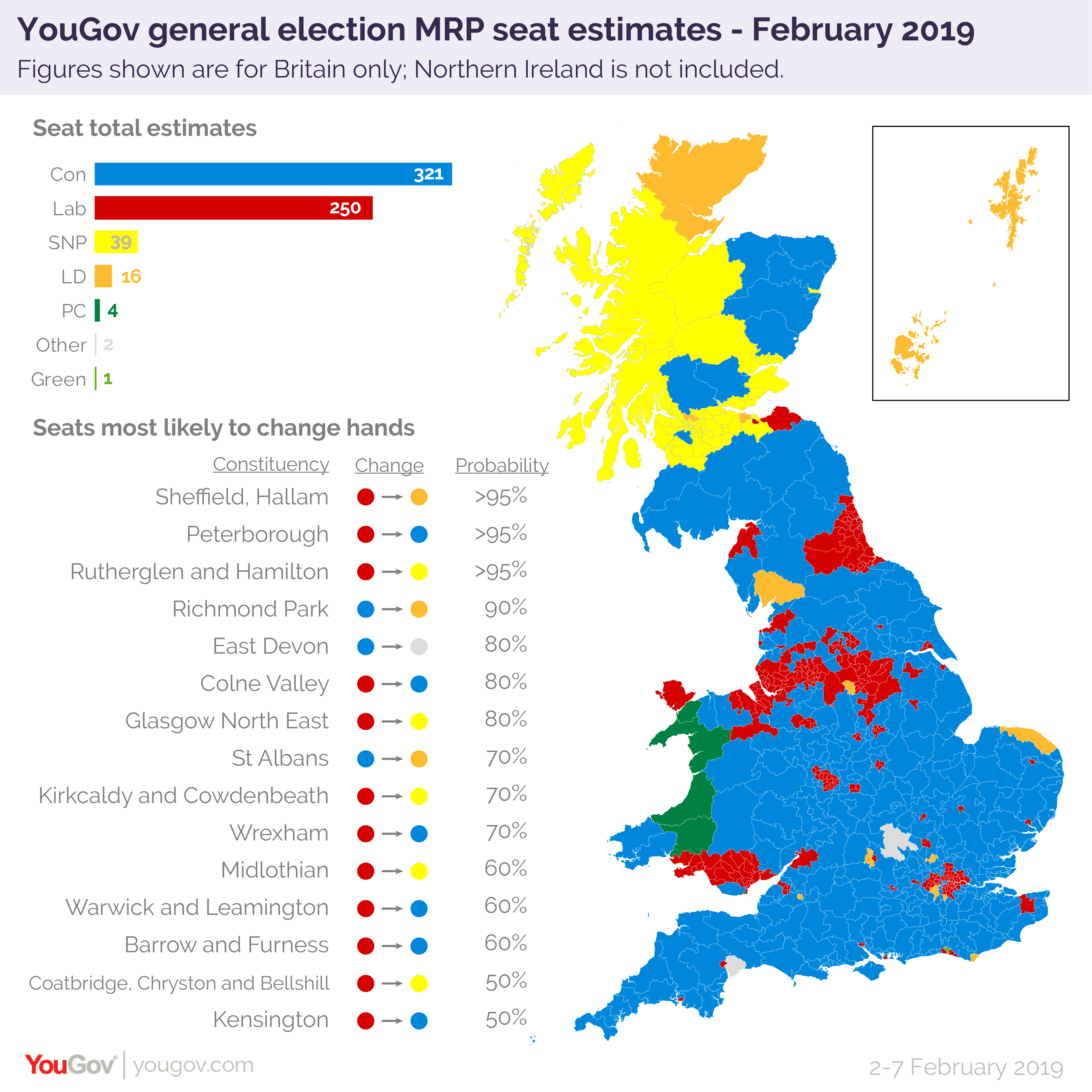 Map Of Uk Parliamentary Constituencies.Tories Unlikely To Gain Enough Seats To Solve Brexit Woes In Event