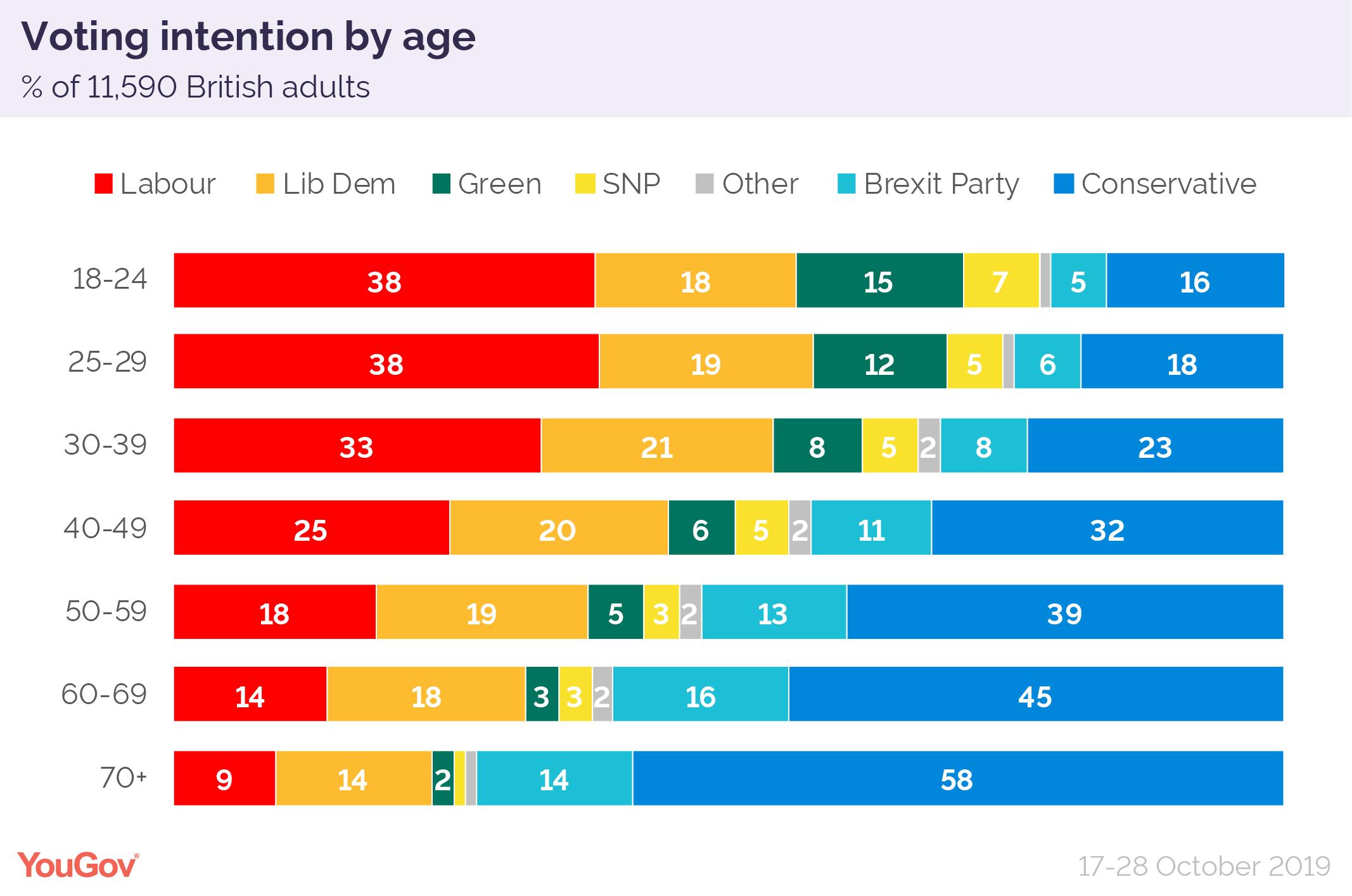 2019 general election: the demographics dividing Britain