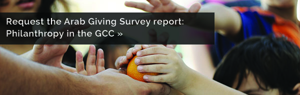Request the Arab Giving Survey: Philanthropy in the GCC