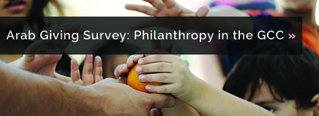 Request the Arab Giving Survey report: Philanthropy in the GCC