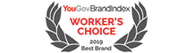 YouGov BrandIndex 2019 Best Brand Rankings of Reputation among the Workforce