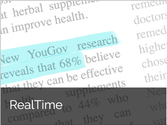 YouGov RealTime for quick cost effective research
