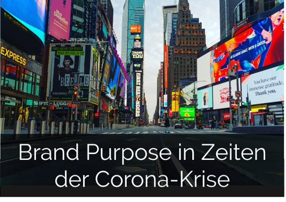 zum Download: Brand Purpose in Zeiten der Corona-Krise