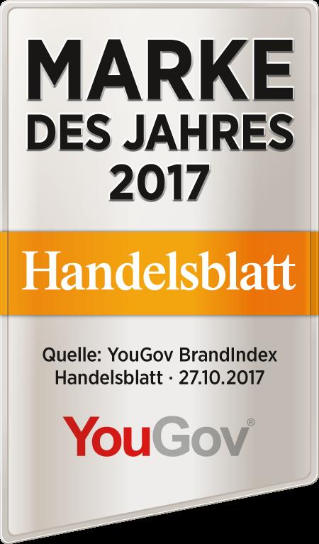 Musterbeispiel Siegel Marke des Jahres-Sieger 2017