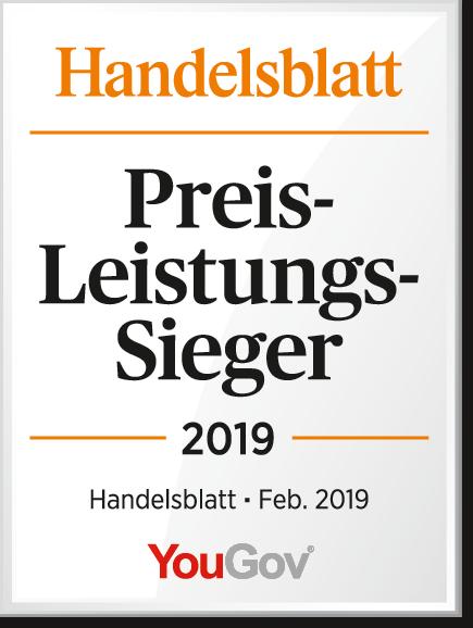 Preis-Leistungs-Sieger 2019