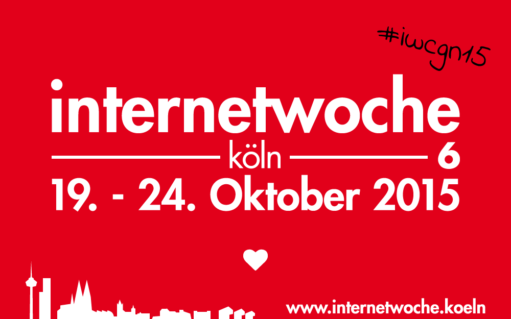 Logo Internetwoche 2015