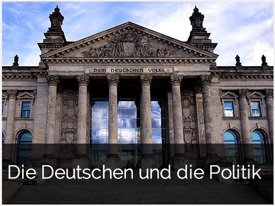 Zur Studie: Die Deutschen und die Politik