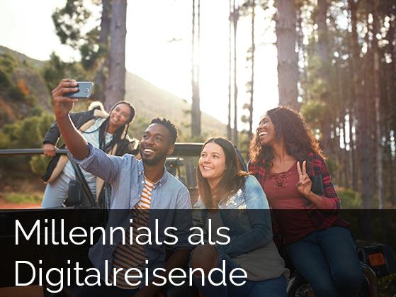 Millennials als Digitalreisende
