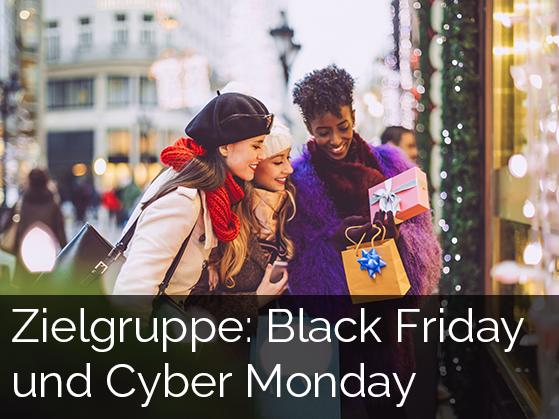zum Download: Zielgruppe Black Friday und Cyber Monday