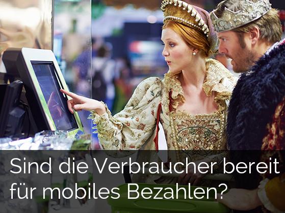 Sind die Verbraucher bereit für mobiles Bezahlen?