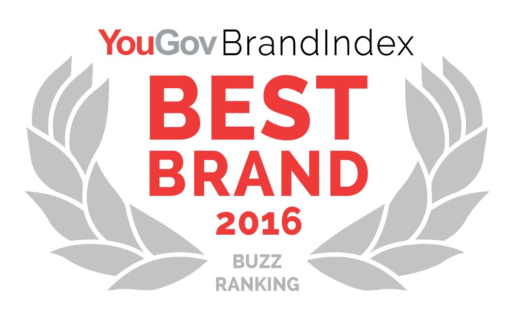 YouGov Best Brand 2016 Logo