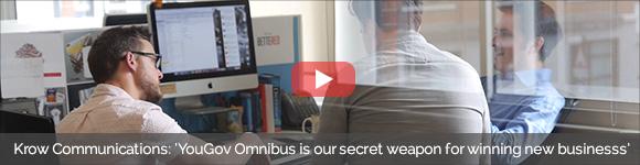 Krow communications use YouGov Omnibus