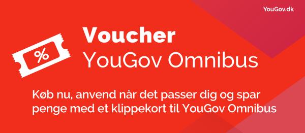 Klippekort til YouGov Omnibus