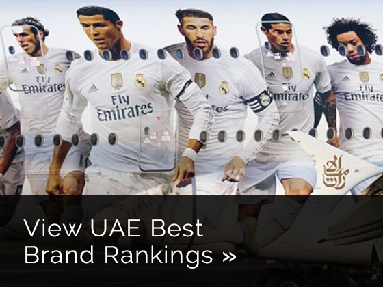 UAE YouGov BrandIndex Best Brand Rankings