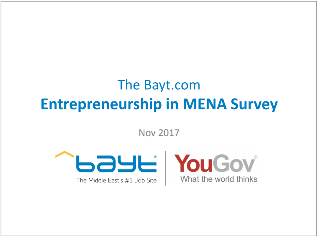 Entrepreneurship in the Middle East and North Africa