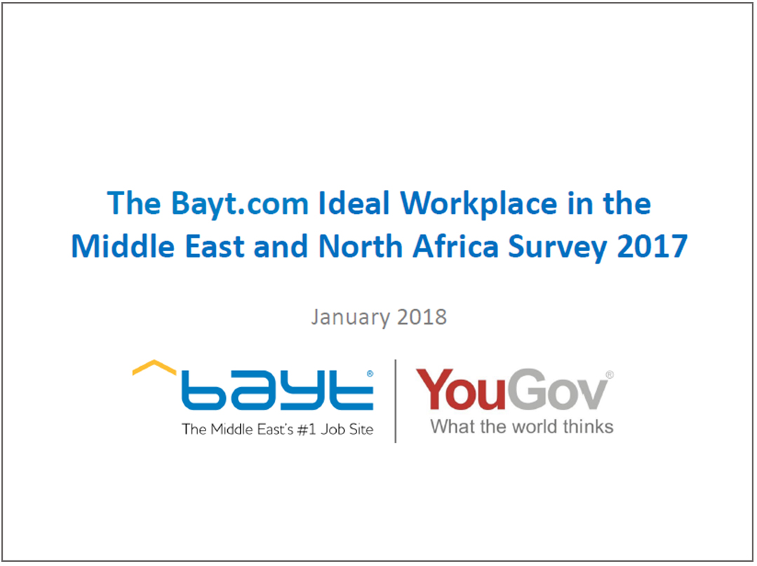 Ideal Workplace in MENA
