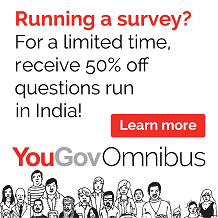 50% off all questions run in India