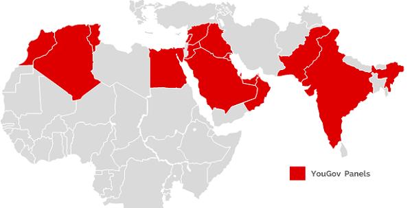 YouGov Omnibus Panel Map