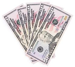 $50 cash